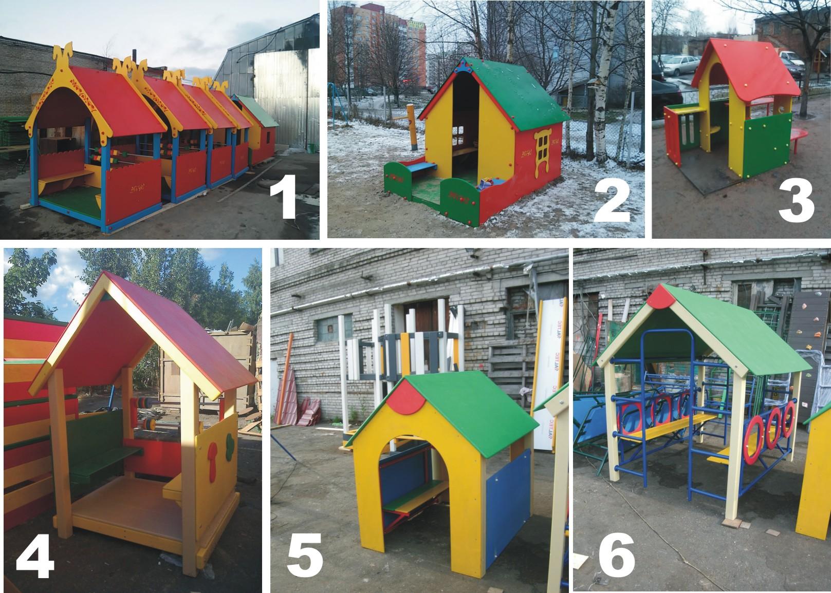 Детский домик своими руками для детского сада 612